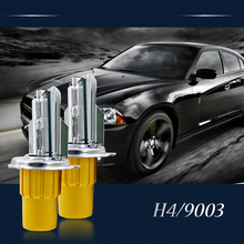 Car Styling HID Xenon H4 Car Headlight 12v 110W Bi Xenon HID H4 Headlamps Auto Lamp hid Xenon Lighthouse with Ballast
