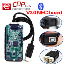 VVOVV S-N0-0P-ER double green v3.0 board plus bluetooth OBD2 OBDII auto scanner OBD 2 dignostic-tool better than cdp tcs pro(China)