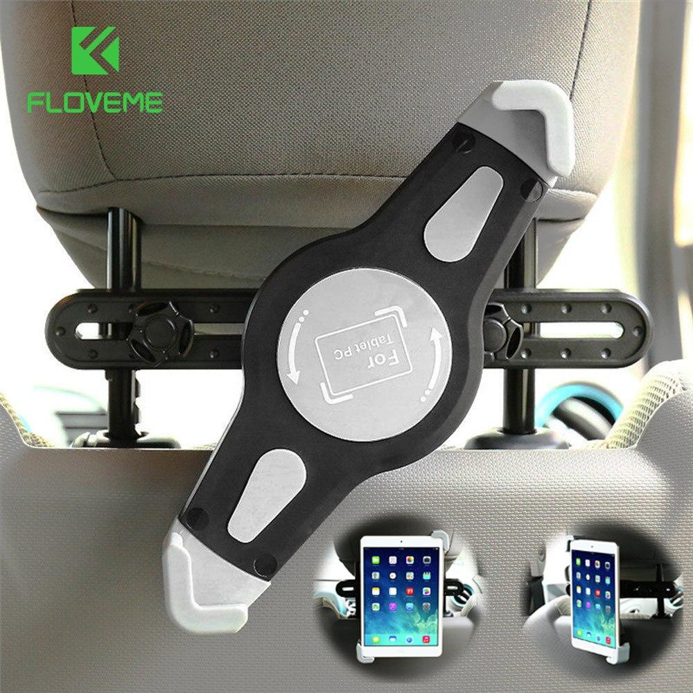 Floveme car back seat holder for ipad 1 2 3 4 air 2 5 mount holder
