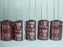The original NCC 25V680UF 25V KZH Cap ultra low resistance products electrolytic capacitor 10*16 DIY electrolytic capacitors