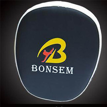 BONSEM Brand Boxing Bags Defense Target Mitts Focus Punch Pads Gloves Sanda Martial Kick Kit Black Karate Training MMA Sparring