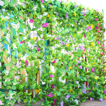2Pcs/lot Hyacinth artificial silk Ivy vine flower hanging decorations Hyacinthus orientalis garden home chair stair pipes decor