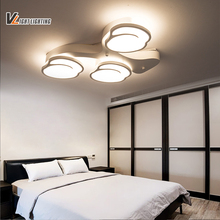 LED modern led ceiling lights for living room bedroom lamparas de techo colgante led acrylic ceiling lamp fixture AC85-265V