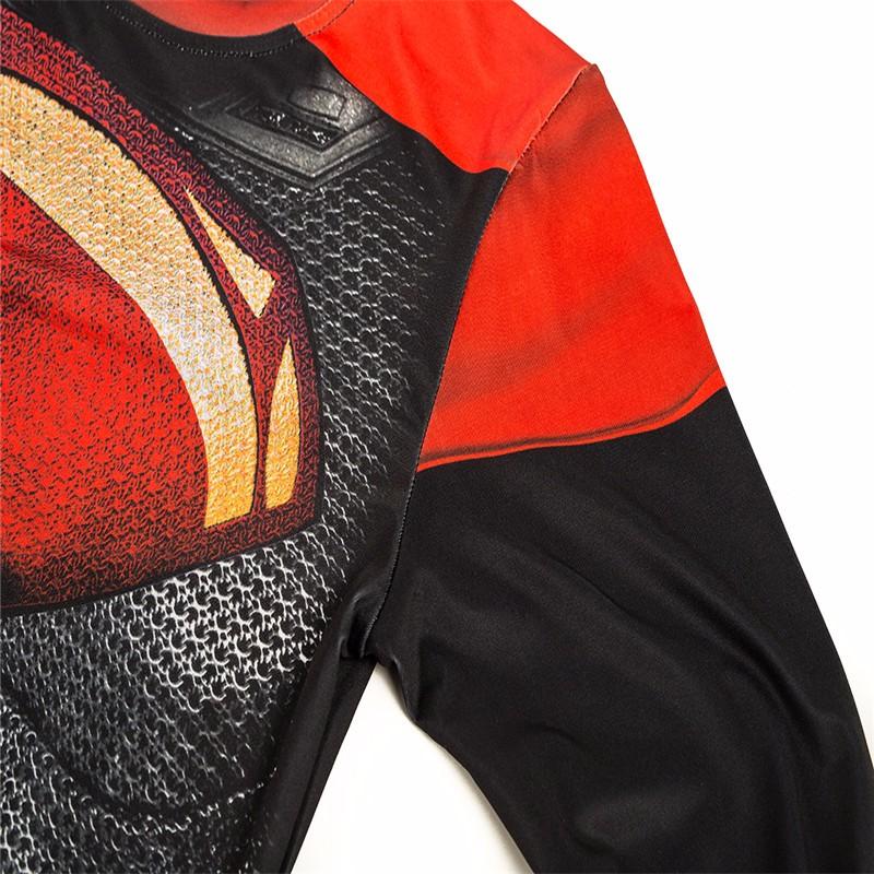 Marvel Gyms Clothing Fitness Compression Shirt Men Batman t-shirt men Long Sleeve 3D t shirt men Crossfit Tops tee shirt homme 40