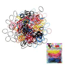 Liweike New Hot Sale 250pcs/lot Rubber Hairband Rope Ponytail Holder Elastic Hair Band Ties Braids Free Shipping&Wholesale