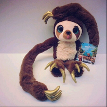"1pcs new 16"" 40cm Belt monkey Long arm monkey plush doll the Croods Factory direct sale free shipping"