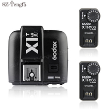 Godox X1T-S TTL 1/8000s 2.4G Trigger + 2x XTR-16S Receivers Set For Sony Cameras for Godox flash V860 V850(China)