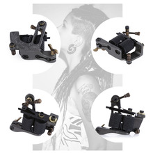 Fashionable Tattoo Machine Liner Shader Gun Aluminum Alloy 8 Wraps Coils Equipment Supply Beauty Health Tools