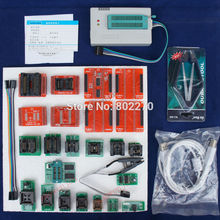 TL866A Programmer EPROM SPI FLASH AVR PIC ICSP in-circuit programming+24 components include 25 flash adapter &1.8V flash adapter(China)