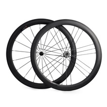Road Bike 50mm Tubular Carbon Wheels G3 Straight Pull 700C Bicycle Wheel Set for Shimano