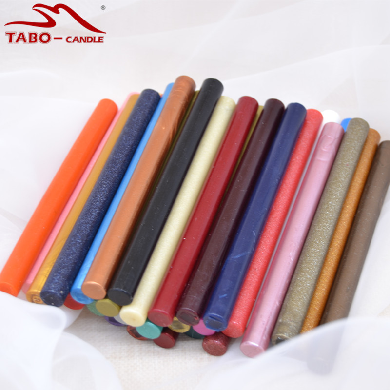 Retro Vintage Sealing Wax Stick Set In Rod with 32 Colors for Classic Traditional Envelope Letter Gift Card Decoration<br>