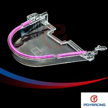 PQY RACING-Hot Sale CLEAR CAM GEAR COVER TIMING BELT COVER TURBO CAM PULLEY WITH LOGO FOR HONDA 96- 00 EK PQY6337