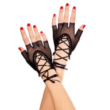 Buy Sex Products Black Fishnet Hollow Sexy Gloves Role Play Nightckub Sexy Bridal Costumes Sexy Lingerie Erotic Toys Women