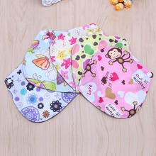 6*6 Inch Reusable Washable Bamboo Cloth Menstrual Sanitary Maternity Minky Pads Color Random