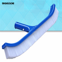 Swimming Pool Spa Algae Cleaning Brush Head Heavy Duty Cleaner Broom Curved Tool Pool Cleaning Brush Pool Cleaning EquipmenT(China)