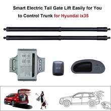 Smart Auto Electric Tail Gate Lift for Hyundai iX35 Control by Remote Drive Seat Tail Gate Button Set Height Avoid Pinch