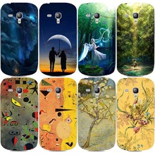 Oil Painting Phone Case For Samsung Galaxy S Duos S7562 GT-S7562 / S Duos 2 S7582 / Trend Plus S7580  Hard PC Cover Phone Case