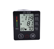 Blood Pressure Monitor Sphygmomanometer Blood Pressure Meter Pulse Digital Wrist Automatic Diagnostic Tool Electronic(China)
