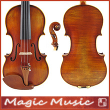 18 Years Old European Spruce! Il Cannone Stradivarius Master Violin 4/4, Aubert Bridge
