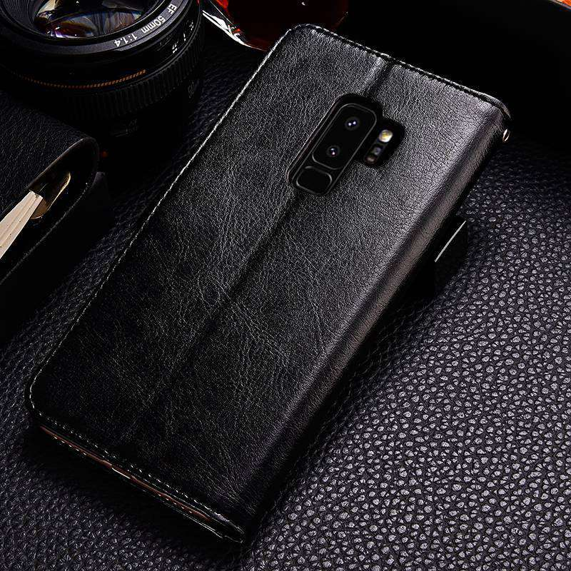 S9 S9+ Luxury Flip Leather Case For Samsung Galaxy S9 S9 Plus Wallet Card Pocket Coque Cover For Samsung S9 S9 Plus Case Fundas (9)