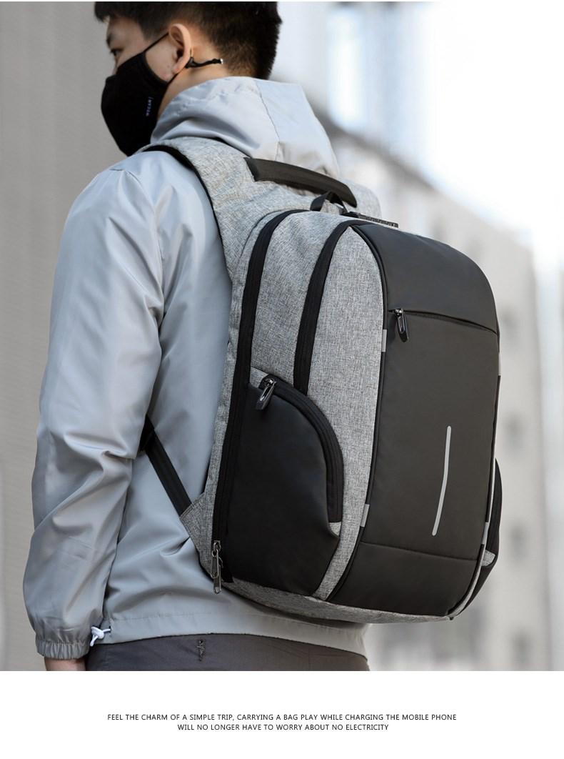 XINCADA Anti Theft Backpack Laptop Backpacks Travel Backpack School Bookbag Back Pack Mens Backpack with A USB Charging Port