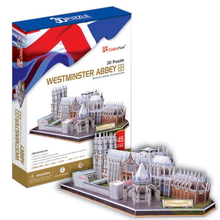 Development of intelligence,Educational toys,good quality,foam,emulational,gifts,paper model,building,Westminster,3D PUZZLE