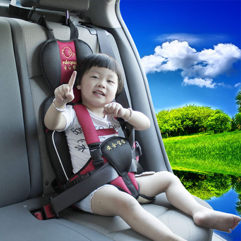 Auxiliary baby car child safety child safety seats for children 0-4 years old baby portable seat<br><br>Aliexpress