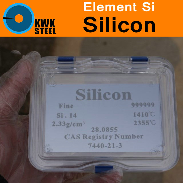 Si Silicon Cube Slice Plate Sheet High Pure 11N 99.999999999% Periodic Table of Elements for Research Study Education Collection<br>