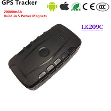 New LK209C Magnetic Car GSM GPS Tracker 20000Mah Battery Google Link Real Time Vechicle Tracking  Standby 240 days Waterproof