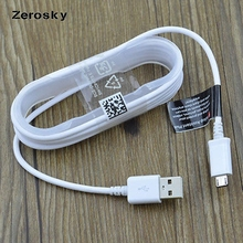 Zerosky 100% Genuine 1.5M NOTE 4 Micro USB Sync Charger Cable for Samsung Galaxy S3 S4 S6 S7 Edge Note 2 4 5 Edge