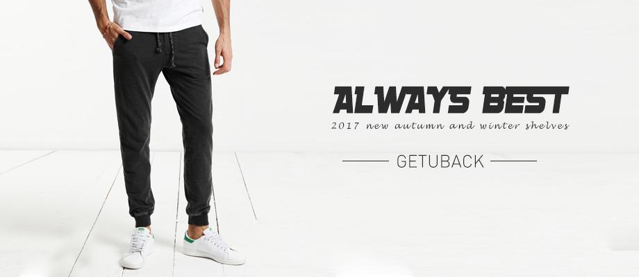 Uwback 17 Plus Size 4XL New Sweat Pants Men Joggers Pants Elastic Waist Loose Sweat Pants For Men Casual Trousers homme CAA329 1