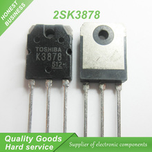 10PCS free shipping K3878 2SK3878 TO-3P 9A 900V N channel MOSFET transistor 100% new original quality assurance