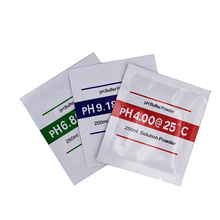 3pcs/lot PH Buffer Solution Powder for PH Test Meter Measure Calibration Point 4.00 6.86 9.18(China)