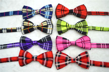 Europe and the Scottish style multicolor of preppy wind restoring ancient ways men and women general bow tie