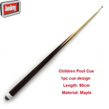 free shipping single 1pc Children Pool Billiard cues Maple wood snooker cue stick 90cm length Billiard accessories(China)