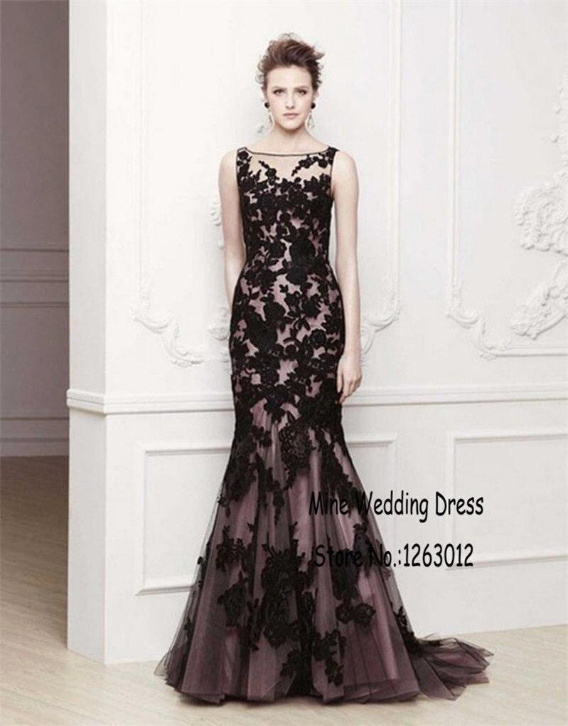 Online Get Cheap Purple Black Lace Mermaid Prom Dress -Aliexpress ...