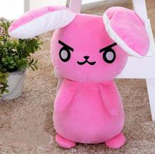 1Pcs/set 53cm Cute OVERWATCHs Red Rabbit Stuffed Plush Doll Toy