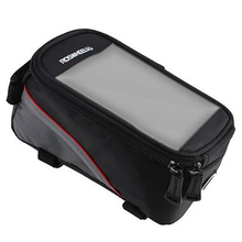 Good deal ROSWHEEL Bicycle Frame Pannier and Front Tube Cell Phone Bag