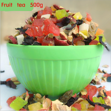 Chinese fruit tea 500g flower fruit tea green food personal care health care the China flavor tea bag beautiful for lose weight
