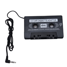 1pcs New Audio Car Cassette Tape Adapter Converter 3.5 MM For Iphone For Ipod MP3 AUX CD Wholesale