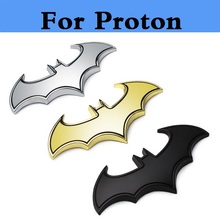 3D Metal Cool bat auto badge car sticker accessories styling for Proton Gen-2 Inspira Perdana Persona Preve Saga Satria Waja