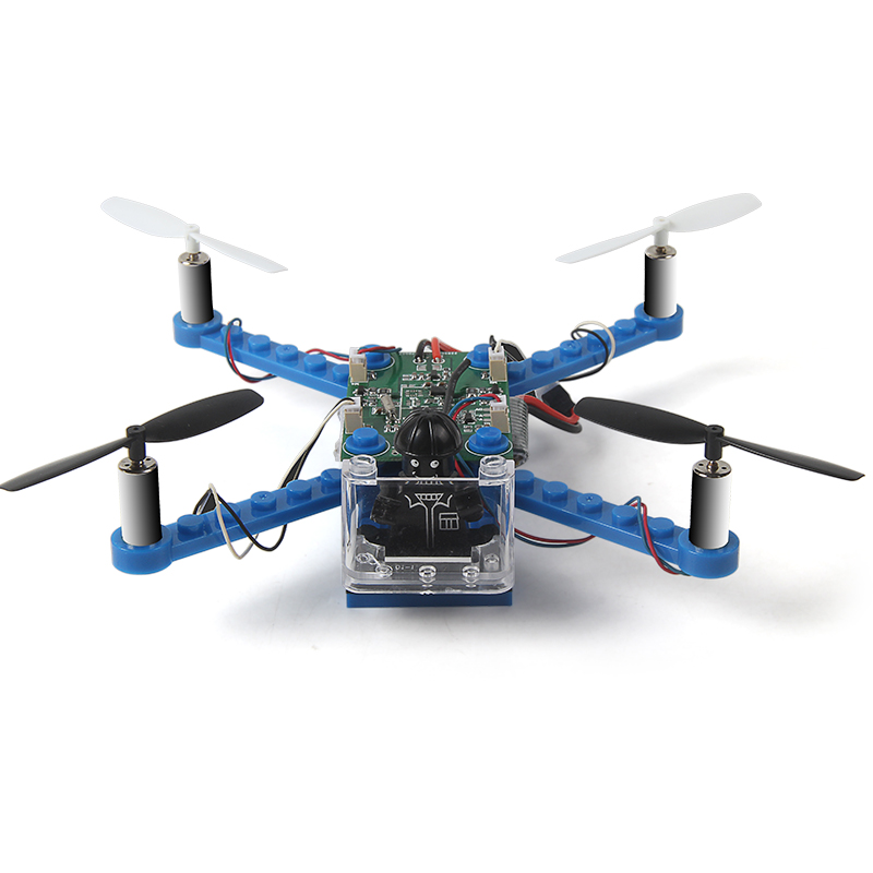 DIY Block Drones 2.4G Building Blocks Mini Drone with No Camera Assembling Bricks Helicopter (4)