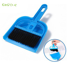 Mini Desktop Keyboard cleaning brush small plain multi-function sweeper can be hanging sweeping table Paddle set(China)