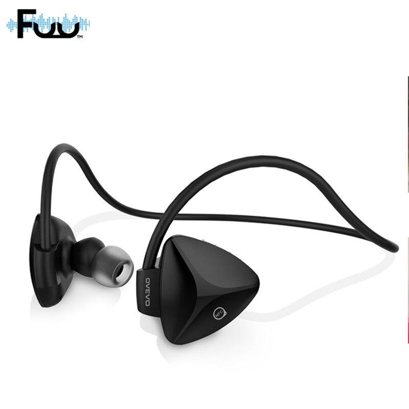 OVEVO SH03B Bluetooth Wireless Stereo BT4.0 Sport Headphone Handsfree Capacitive MIC Sweatproof Dustproof Shockproof Headset<br>