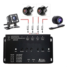 Universal Mini Car DVR Record Switch Box For Car Front side rear View Camera Parking system for all car