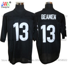 2017 Vintage Cheap American Football Jersey Willie Beamen #13 ANY GIVEN SUNDAY Throwback jerseys Retro Stitched Shirts