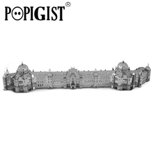POPIGIST 3D Metal Puzzle DIY Model Building Tokyo Railway Station Architecture Jigsaw Education Children Toy Gift Adult Train IQ