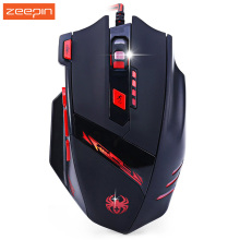 2017 New T90 9200DPI 8 Buttons Computer Mouse Optical Wired USB Gaming Mouse Mice Professional Game Mice for Laptops Desktops PC