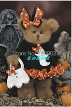 Free shipping 10 inch Bearington teddy bear for halloween soft plush bear toys kids creative gift