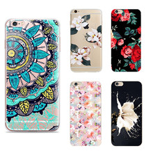 Top Behind Flowers Coque Case For Iphone 8 4 4S 5S SE 5C 6 6S 7 X Plus For Xiaomi Redmi 4 4A 3S 3 S 4X Note 3 4 Pro Prime 4X